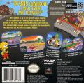 The Simpsons: Road Rage Game Boy Advance Back Cover