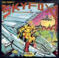 Skyfox Apple II Front Cover