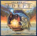 Archon II: Adept Commodore 64 Front Cover