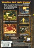 Indiana Jones and the Emperor's Tomb PlayStation 2 Back Cover