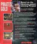Pirates! Gold Windows 3.x Back Cover