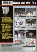 ESPN National Hockey Night PlayStation 2 Back Cover