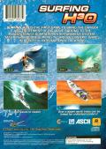 Surfing H3O PlayStation 2 Back Cover