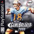 NCAA GameBreaker 2000 PlayStation Front Cover