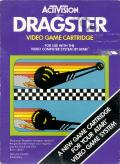 Dragster Atari 2600 Front Cover