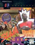 Slam City with Scottie Pippen DOS Front Cover