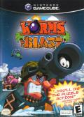 Worms Blast GameCube Front Cover