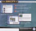SimCity 4: Rush Hour Windows Other Jewel Case - Back
