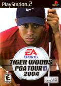 Tiger Woods PGA Tour 2004 PlayStation 2 Front Cover