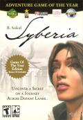 Syberia: Adventure Game of the Year Windows Front Cover