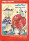 Sea Battle Intellivision Front Cover