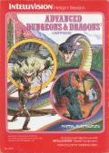 Advanced Dungeons & Dragons Cartridge Intellivision Front Cover