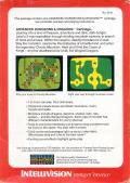 Advanced Dungeons & Dragons Cartridge Intellivision Back Cover