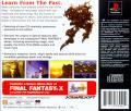 Final Fantasy III PlayStation Back Cover