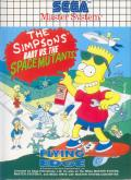 The Simpsons: Bart vs. the Space Mutants SEGA Master System Front Cover