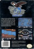 Twin Eagle NES Back Cover