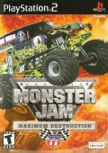 Monster Jam: Maximum Destruction PlayStation 2 Front Cover
