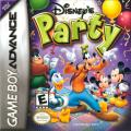 Disney's Party Game Boy Advance Front Cover