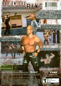 WWE Raw 2 Xbox Back Cover