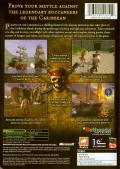 Pirates of the Caribbean Xbox Back Cover