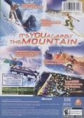 SSX 3 Xbox Back Cover