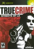 True Crime: Streets of LA Xbox Front Cover