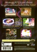 Disgaea: Hour of Darkness PlayStation 2 Back Cover