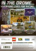 Drome Racers PlayStation 2 Back Cover