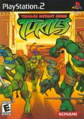 Teenage Mutant Ninja Turtles PlayStation 2 Front Cover