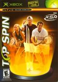 Top Spin Xbox Front Cover