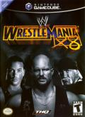 WWE WrestleMania X8 GameCube Front Cover