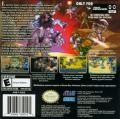 Shining Soul Game Boy Advance Back Cover