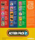Activision's Atari 2600 Action Pack 2 Windows Back Cover