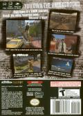 Tony  Hawk's Underground GameCube Back Cover