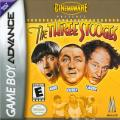 The Three Stooges Game Boy Advance Front Cover