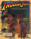 Indiana Jones and the Fate of Atlantis DOS Front Cover W/O stickers