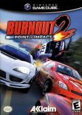Burnout 2: Point of Impact GameCube Front Cover