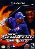 MLB SlugFest 20-03 GameCube Front Cover