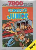 Donkey Kong Junior Atari 7800 Front Cover