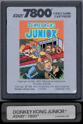 Donkey Kong Junior Atari 7800 Media