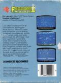 Frogger II: ThreeeDeep! Atari 5200 Back Cover