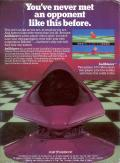 Ballblazer Atari 5200 Back Cover