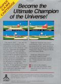 Ballblazer Atari 7800 Back Cover