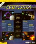 Asteroids Windows Back Cover