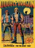 Double Dragon Atari 7800 Front Cover