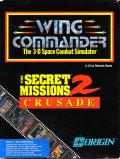 Wing Commander: The Secret Missions 2 - Crusade DOS Front Cover