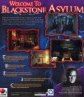 John Saul's Blackstone Chronicles: An Adventure in Terror Windows Back Cover