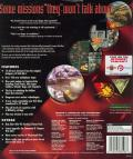 Command & Conquer: Red Alert - Counterstrike DOS Back Cover