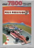 Pole Position II Atari 7800 Front Cover