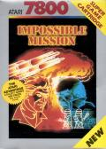 Impossible Mission Atari 7800 Front Cover